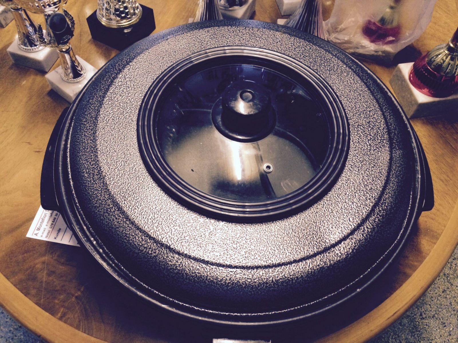 2 Stk.runder Grill - Allzweckeinsatz - Grillieren, Wärmen etc.