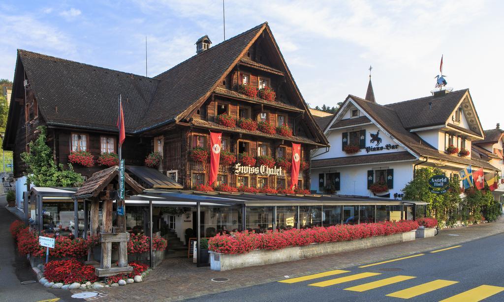 Swisschalet Merlischachen - hier kochte der Kochclub für die Gäste ein 5Gang Galamenue